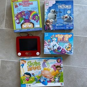 Lot of 5 Games/Toys Ages 3+